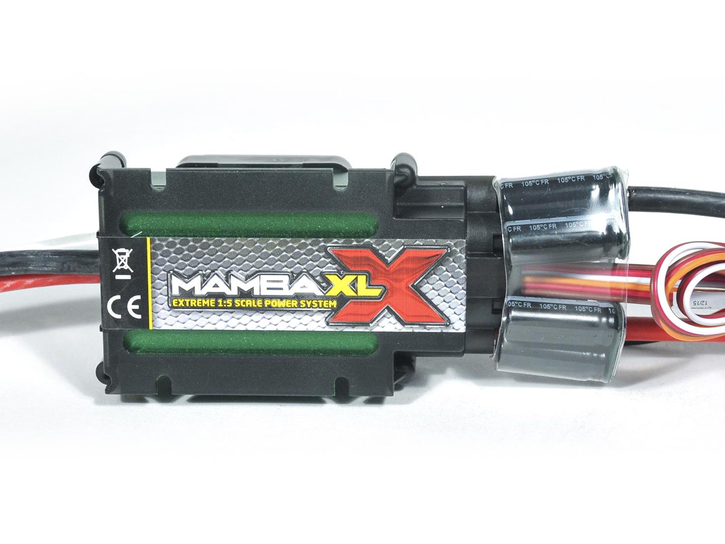 Castle Creations Mamba XLX 34V ESC, 20Amp Peak Bec