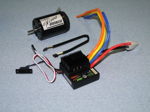 Exceed RC Brushless Bundles M-FS-XC3135